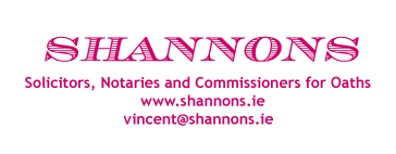 Shannons Solicitor - Notary Public, Commissioner for Oaths, Personal Injury Solicitor